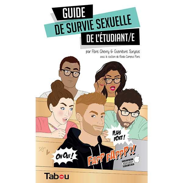 Livre Guide de survie sexuelle de l'étudiant/e