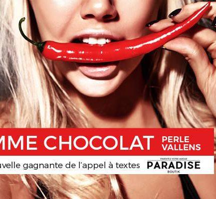 Interview de Perle Vallens, auteure de la femme chocolat