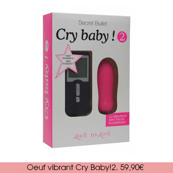 oeuf vibrant cy baby! 2 de Love to Love